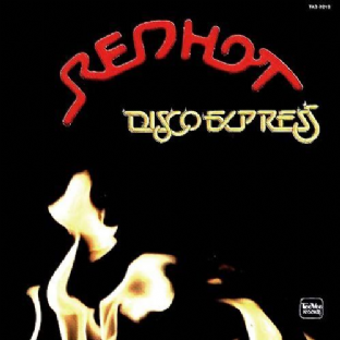 V/A - Red Hot Disco Express (LP) (Red Vinyl) (EX/VG)